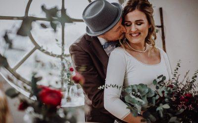 Will you be my Berrytine? – Eine Hochzeitsinspiration in Rot und Gold