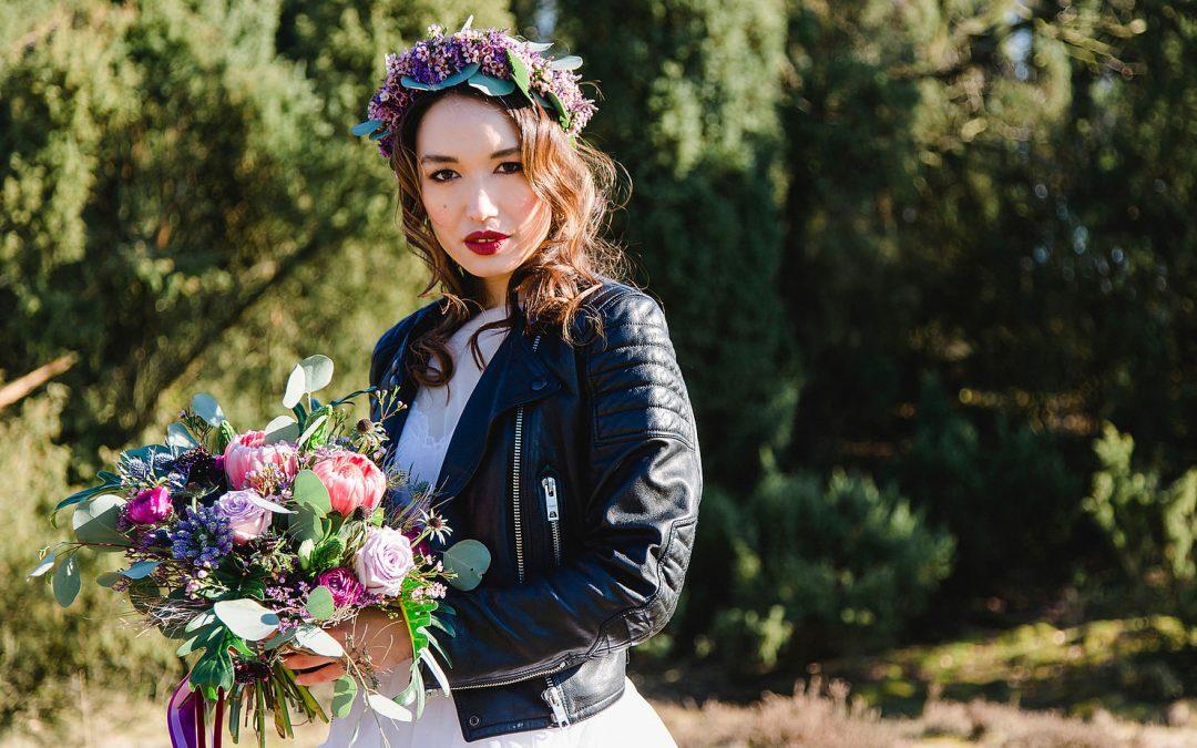 Rocking bride – Bridalstyle Inspiration in Ultra Violett