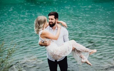 Der Caumasee – Ein Engagement Shooting im Paradies