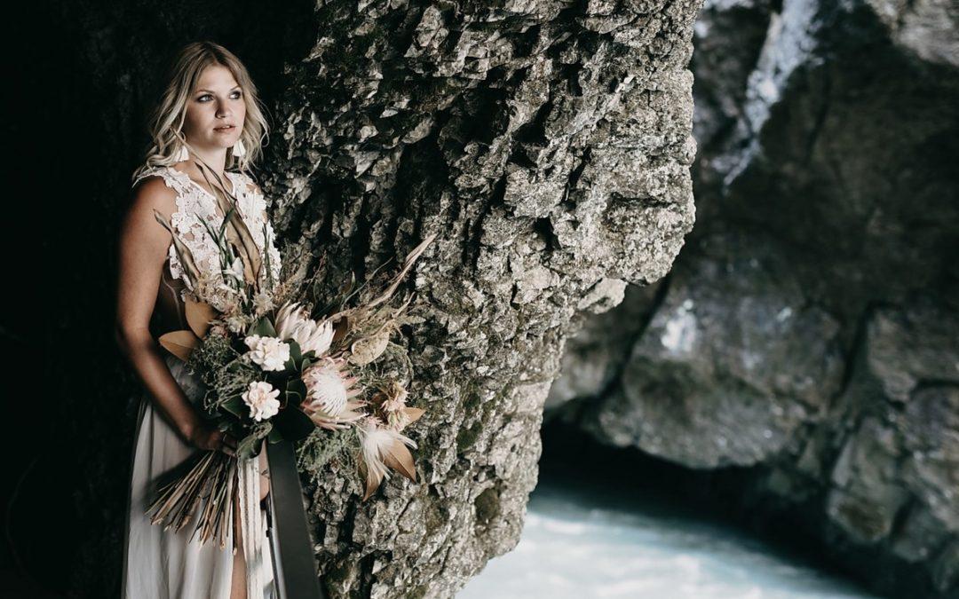 Canyon Bride – Eine Boho Bridalstyle Inspiration in der Aareschlucht