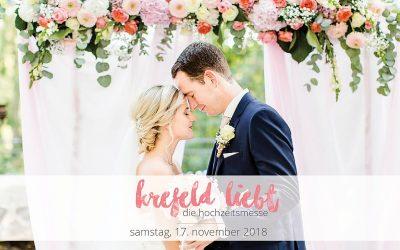 Die Hochzeitsmesse #krefeldliebt – Save the date!