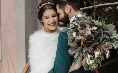 Marry me under the Mistletoe – Inspiration einer weihnachtlichen Winterhochzeit