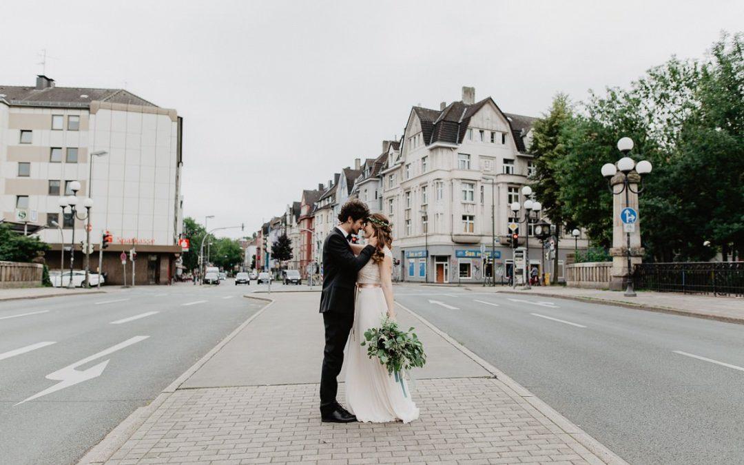 City Beats – Eine urbane Hochzeitsinspiration im Kreuzviertel von Dortmund