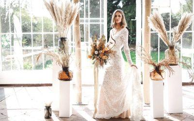 Sonnengeküsst im Palmenhaus – Eine Inspiration für Bohohochzeiten