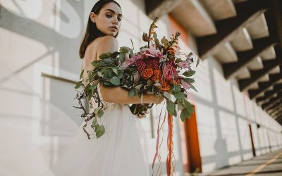 Electric lights – Eine extravagante Bridalstyle Inspiration für urbane Bräute