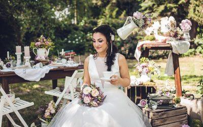 Chabby Chic meets Alice – Eine Hochzeitsinspiration wie im Wunderland
