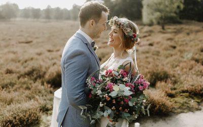 Madita & Steffen – Eine Bohmian Elopement Wedding im Grünen