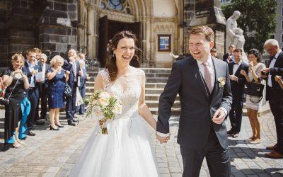 Christina & Alexander – Eine urbane Hochzeit in einer alten Essigmanufaktur