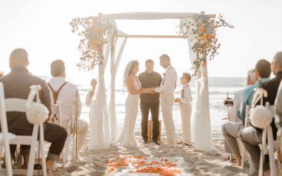 Desiree & Jürgen – Standesamtliche Trauung am Strand von San Diego