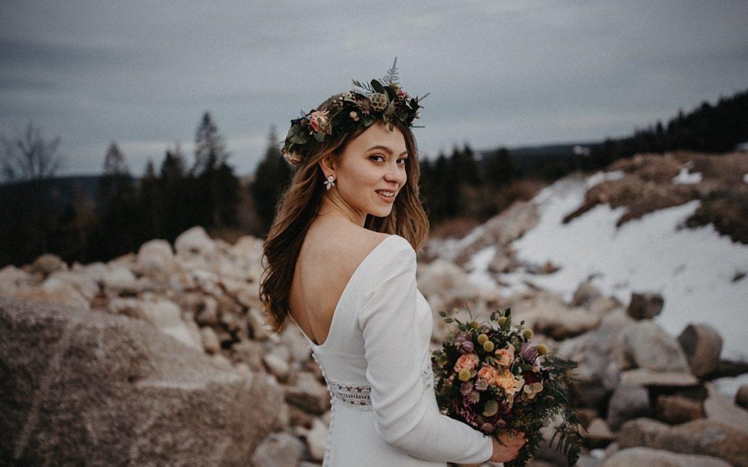 Black Forest Bride – Eine magische Bridal Inspiration