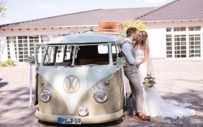 Lena & Marcel – Eine kirchliche Sommerhochzeit im Vintagelook zum Verlieben