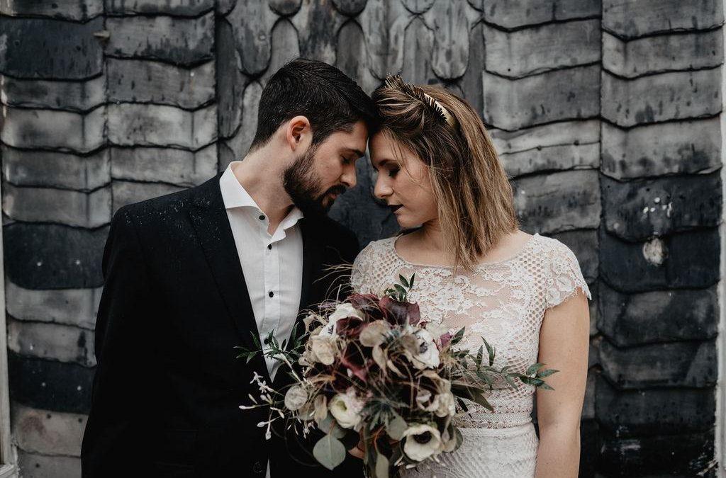 Purple Rain – Inspiration einer romantischen Moody Hochzeit