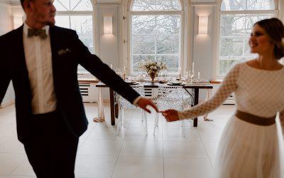 Classy Castle – Eine moderne Hochzeitsinspiration in Gold und Marmor