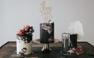 Trends – Hochzeitstorten & die passende Hochzeitspapeterie in verschiedenen Stilen