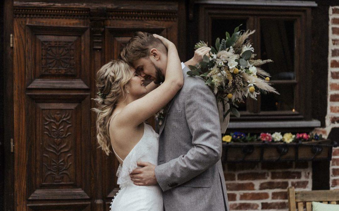 Nordic Wedding – Inspiration einer Scheunenhochzeit im skandinavischen Stil
