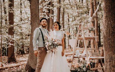 Pocahontas Wedding – Inspiration einer herbstlichen Waldhochzeit