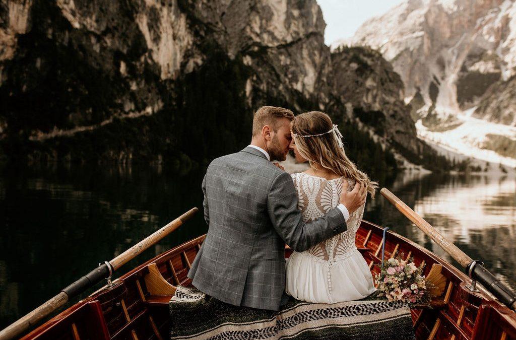 Eine Bohemian Lovestory am Pragser Wildsee