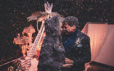 Winterwonderland – Inspiration einer verschneiten Eheerneuerung