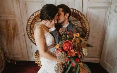 Vintage loves Boho – Eine Inspiration für verliebte Boho-Vintage Hochzeiten