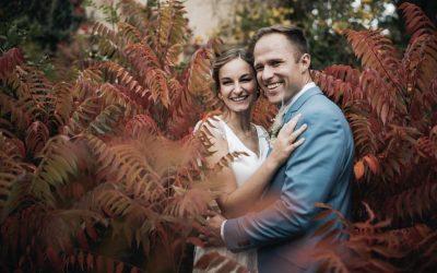 Ruth & Dustin – Eine kirchliche Hochzeit im Wasserschloss Unsleben