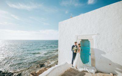 Nazarena & Andrea – Eine Traumhochzeit auf Mykonos
