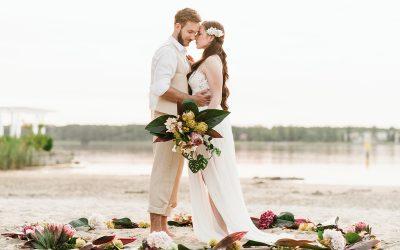 Hawaiian Wedding – Inspiration einer Hochzeit im hawaiianischen Stil