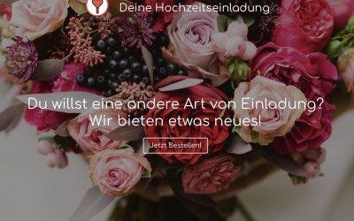 Wir-feiern.es – Deine stilvolle Hochzeitseinladung kreativ, individuell & digital