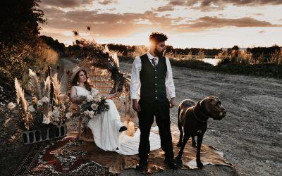 Blooming Gypsy Love – Inspiration für blumenprächtige Gypsy Hochzeiten