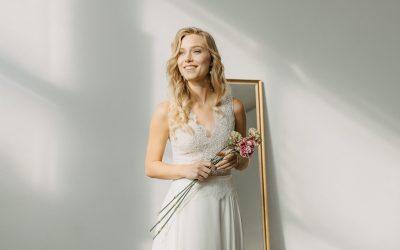 """""""Metamorphose"""" – die wandelbare Brautmodenkollektion 2021 von Claudia Heller"""