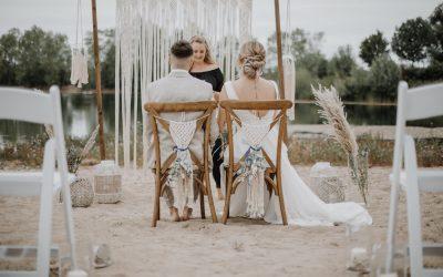 Barefoot Wedding – Eine Inspiration für leichte Sommerhochzeiten im maritimen Bohostil