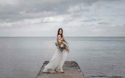 Modern Country Beach Wedding – Eine Inspiration für maritime Hochzeiten im moderne Landhausstil