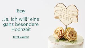 Etsy Hochzeit