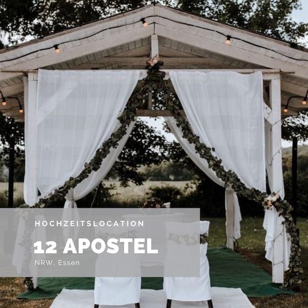 12 Apostel Essen, Hochzeitslocation, Rustikale Hochzeit