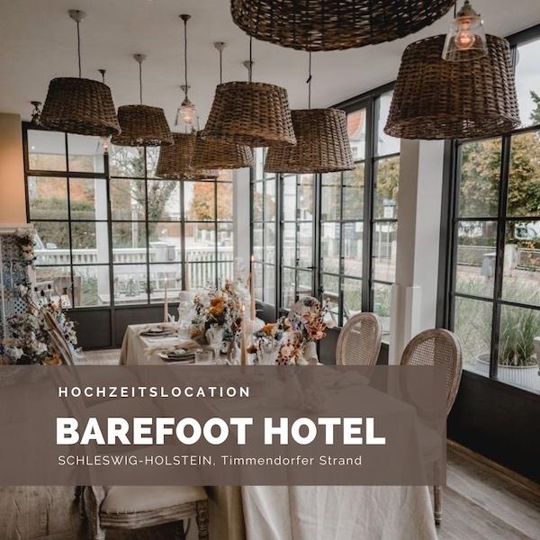 Barefoot Hotel, Hochzeitslocation, Timmendrorfer Strand, Strandhochzeit