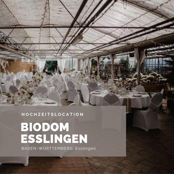 Biodom Esslingen, Hochzeitslocation, Gewächshaushochzeit, NRW