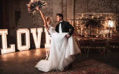 Industrial Romance meets Boho – Ein romantisches Hochzeitskonzept im Industrial Stil mit Bohovibes