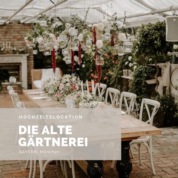 Die alte Gärtnerei Hochzeitslocation, Bayern, Gewächshaus Hochzeit