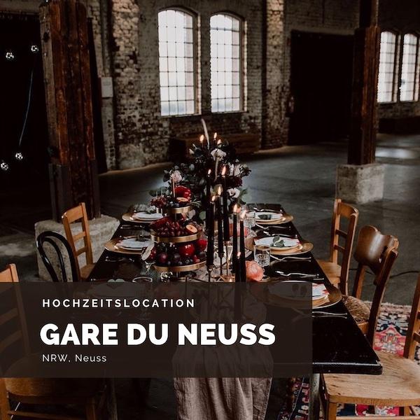 Gare du Neuss Hochzeitslocation, Eventlocation, NRW, Neuss, Düsseldorf