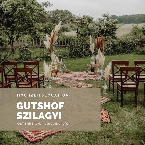 Gutshof Szilagyi Hochzeitslocation Österreich