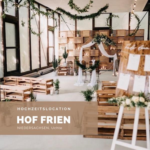 Hof Frien, Hochzeitslocation, Niedersachsen