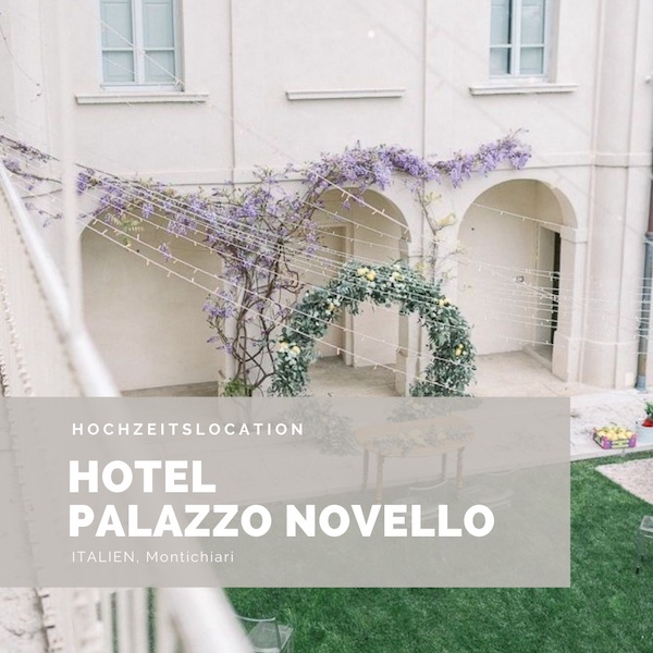 Hotel Palazzo Novello Hochzeitslocation, Italien Hochzeit, Brescia