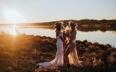Boho Brides – Eine Bridalstyle Inspiration mit zwei grandiosen Boho Brautlooks