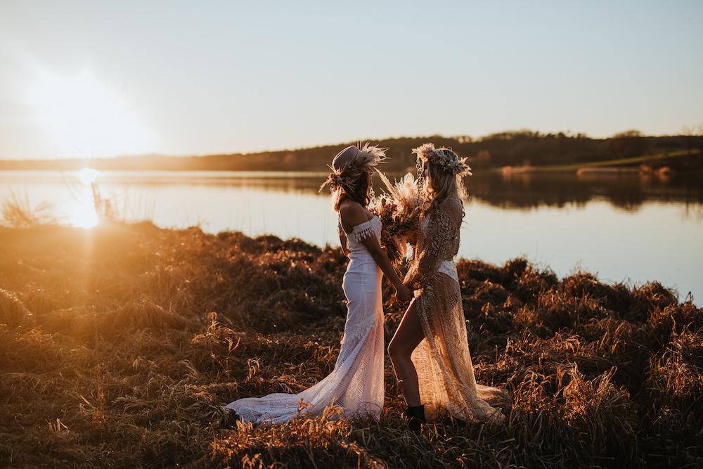 Boho Brides Eine Bridalstyle Inspiration mit zwei grandiosen Boho Brautlooks