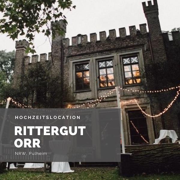 Rittergut Orr, Hochzeitslocation NRW, Köln