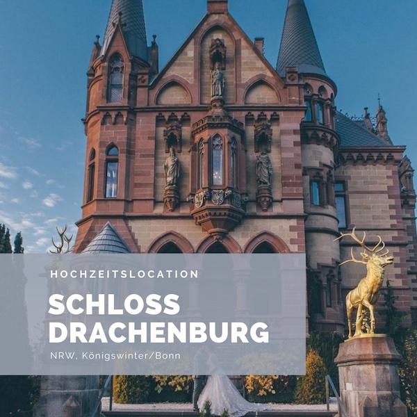 Schloss Drachenburg Hochzeitslocation NRW, Bonn, Schlosshochzeit