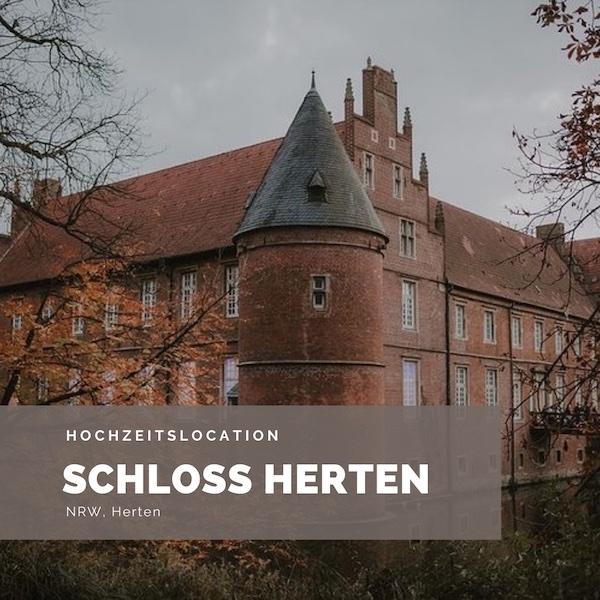 Schloss Herten Hochzeitslocation, NRW, Schlosshochzeit, Wasserschloss