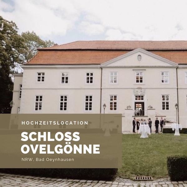 Schloss Ovelgönne, Schlosshochzeit, Hochzeitslocation NRW