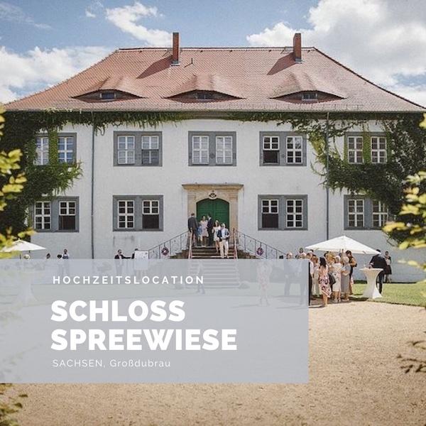 Schloss Sprechweise, Hochzeitslocation, Sachsen, Schlosshochzeit