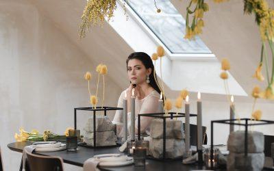 Pantone Farbe 2021 – Eine Inspiration für moderne Hochzeiten in Ultimate Grey & Illuminating