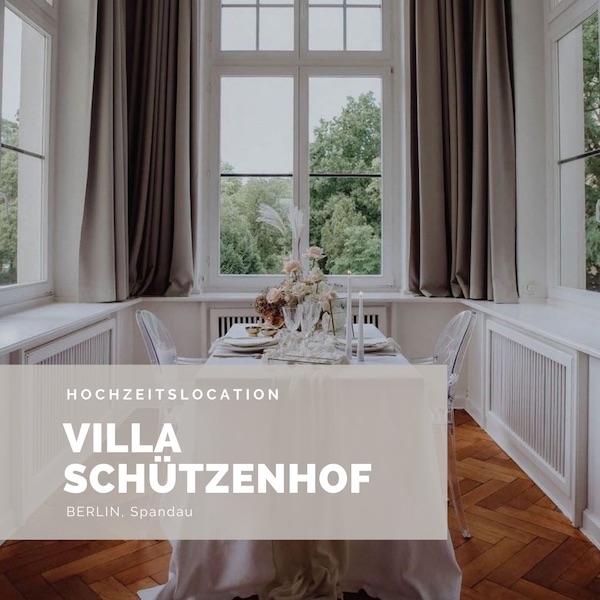 Villa Schützenhof, Hochzeitslocation Berlin